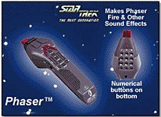 ST:TNG Phaser Remote detail view